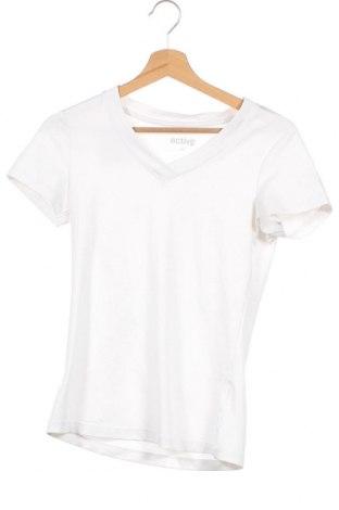 Дамска тениска Active By Tchibo, Размер XS, Цвят Бял, Цена 15,96лв.