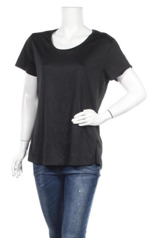 Дамска тениска Active&Co, Размер XL, Цвят Черен, Полиестер, Цена 7,56лв.