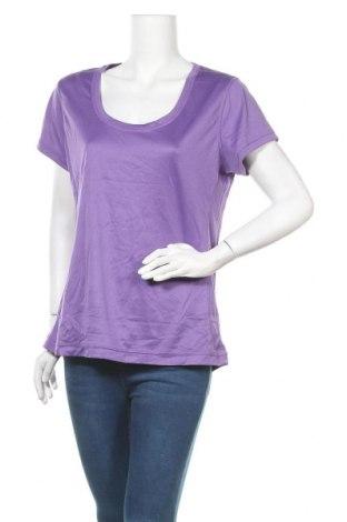 Дамска тениска Active&Co, Размер XL, Цвят Лилав, Полиестер, Цена 4,46лв.