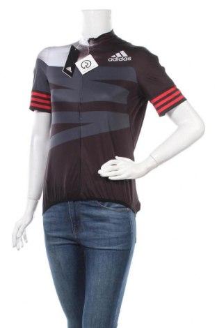 Дамска тениска Adidas, Размер XL, Цвят Черен, 86% полиестер, 14% еластан, Цена 40,02лв.