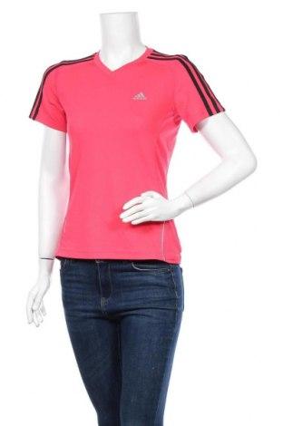 Дамска тениска Adidas, Размер S, Цвят Розов, Цена 12,60лв.