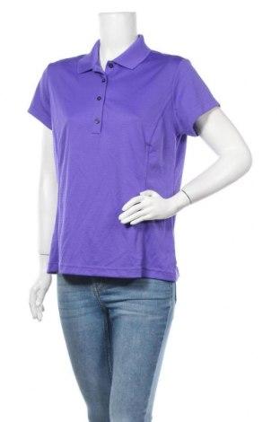 Дамска тениска Adidas, Размер L, Цвят Лилав, Полиестер, Цена 14,70лв.