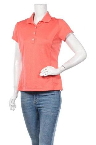 Дамска тениска Adidas, Размер M, Цвят Розов, Полиестер, Цена 30,98лв.