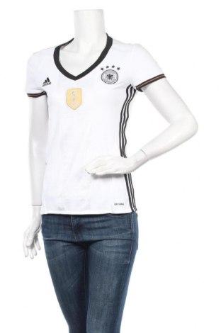 Дамска тениска Adidas, Размер S, Цвят Бял, Полиестер, Цена 13,86лв.