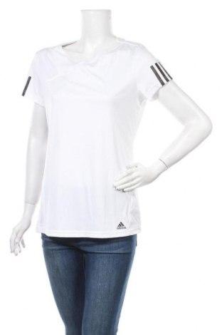 Дамска тениска Adidas, Размер XL, Цвят Бял, Полиестер, Цена 27,00лв.