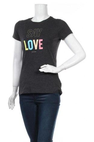 Дамска тениска Aeropostale, Размер M, Цвят Сив, 60% памук, 40% полиестер, Цена 12,60лв.