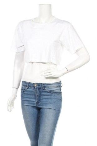 Дамска тениска Alexander Wang For H&M, Размер M, Цвят Бял, Полиамид, Цена 13,32лв.