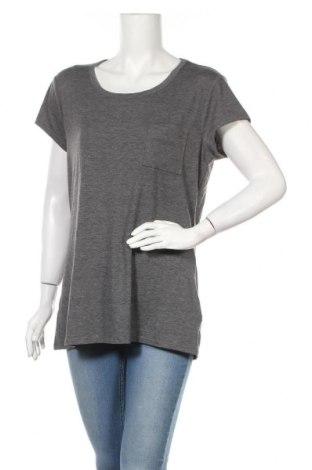 Дамска тениска Attention, Размер XL, Цвят Сив, 67% полиестер, 29% вискоза, 4% еластан, Цена 12,29лв.