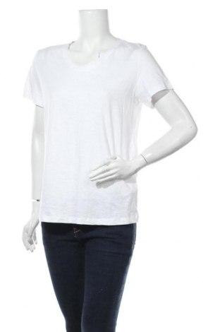 Дамска тениска Bpc Bonprix Collection, Размер L, Цвят Бял, Памук, Цена 11,76лв.