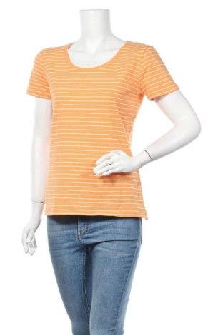 Дамска тениска C&A, Размер M, Цвят Оранжев, Цена 13,39лв.