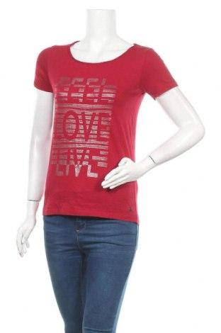 Дамска тениска Cecil, Размер S, Цвят Червен, Цена 9,98лв.