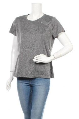 Γυναικείο t-shirt Champion, Μέγεθος L, Χρώμα Γκρί, Τιμή 4,68€