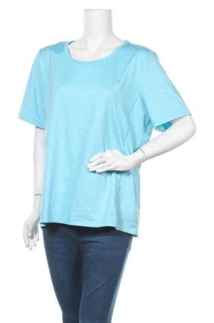 Γυναικείο t-shirt Champion, Μέγεθος XXL, Χρώμα Μπλέ, 84% πολυεστέρας, 16% ελαστάνη, Τιμή 6,07€