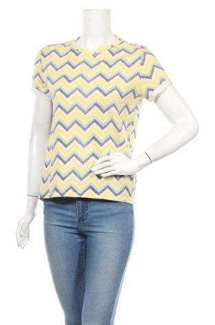 Дамска тениска Clockhouse, Размер M, Цвят Многоцветен, Памук, Цена 18,90лв.