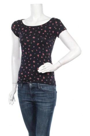 Дамска тениска Clockhouse, Размер S, Цвят Многоцветен, 96% памук, 4% еластан, Цена 14,18лв.