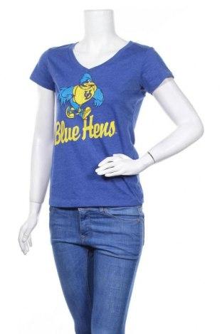 Дамска тениска Colloseum, Размер M, Цвят Син, 55% памук, 45% полиестер, Цена 10,92лв.