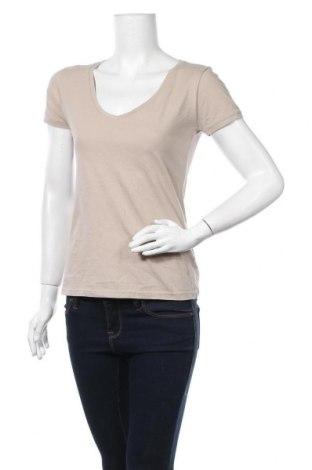 Дамска тениска Colours Of The World, Размер M, Цвят Бежов, 100% памук, Цена 11,03лв.