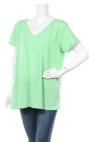 Дамска тениска Colours Of The World, Размер XXL, Цвят Зелен, 65% полиестер, 35% памук, Цена 7,56лв.