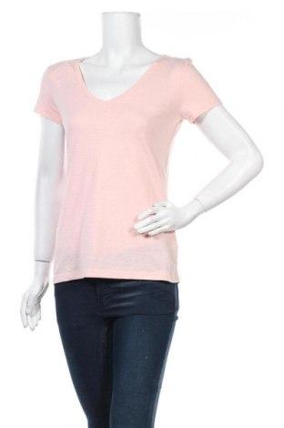 Дамска тениска Colours Of The World, Размер S, Цвят Розов, 60% памук, 40% полиестер, Цена 13,23лв.