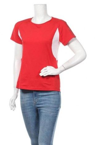 Дамска тениска Crane, Размер M, Цвят Червен, 95% полиестер, 5% еластан, Цена 4,46лв.
