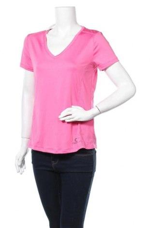 Дамска тениска Crivit, Размер L, Цвят Розов, 92% полиестер, 8% еластан, Цена 7,35лв.