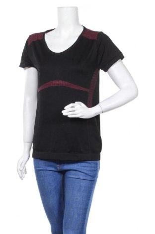 Дамска тениска Crivit, Размер XL, Цвят Черен, 60% полиамид, 32% полиестер, 8% еластан, Цена 9,24лв.
