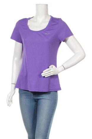 Дамска тениска Crivit, Размер L, Цвят Лилав, Полиестер, Цена 8,93лв.