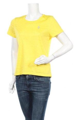 Дамска тениска Crivit, Размер M, Цвят Жълт, 95% полиестер, 5% еластан, Цена 11,03лв.