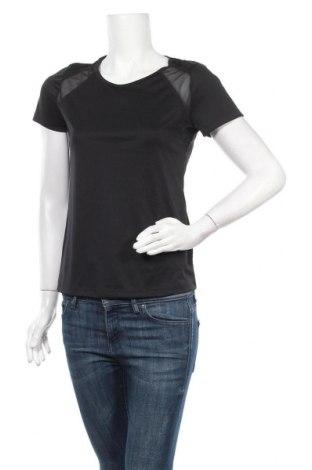 Дамска тениска Crivit, Размер M, Цвят Черен, Полиестер, Цена 9,82лв.