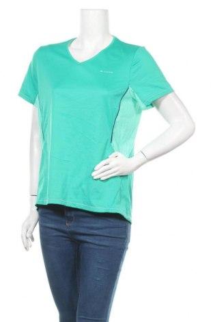 Дамска тениска Decathlon, Размер L, Цвят Зелен, Цена 7,88лв.