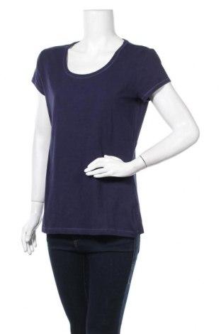 Дамска тениска Denim 1982, Размер L, Цвят Син, 95% памук, 5% еластан, Цена 10,24лв.