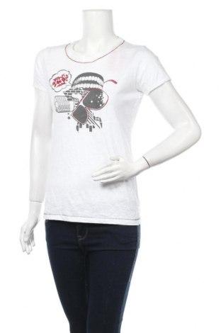 Дамска тениска Ecko Unltd., Размер M, Цвят Бял, Памук, Цена 7,35лв.
