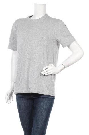 Дамска тениска Eddie Bauer, Размер M, Цвят Сив, 95% памук, 5% еластан, Цена 13,65лв.