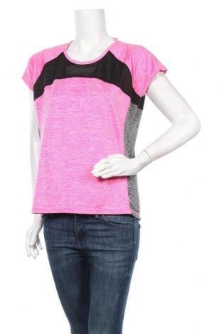 Дамска тениска Ergee, Размер XL, Цвят Многоцветен, 94% полиестер, 6% еластан, Цена 8,51лв.