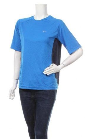 Дамска тениска Everlast, Размер L, Цвят Син, Полиестер, Цена 8,40лв.