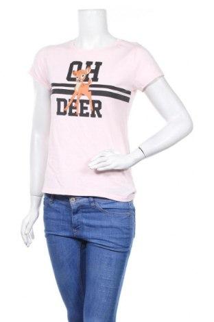 Дамска тениска Fb Sister, Размер S, Цвят Розов, Цена 13,39лв.