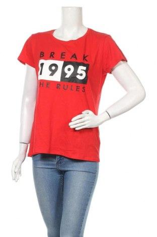 Дамска тениска Fb Sister, Размер XL, Цвят Червен, Памук, Цена 4,46лв.
