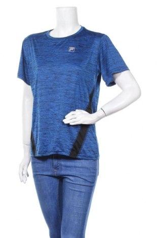 Дамска тениска Fila, Размер XL, Цвят Син, Полиестер, Цена 10,40лв.
