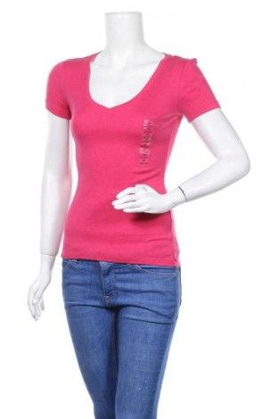 Дамска тениска Gap, Размер XS, Цвят Розов, 60% памук, 40% модал, Цена 13,23лв.