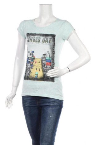 Дамска тениска Gesa, Размер M, Цвят Син, Цена 11,03лв.