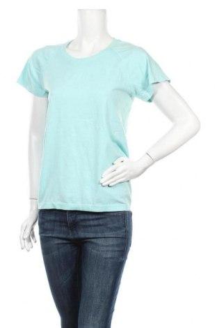 Дамска тениска H&M Sport, Размер XL, Цвят Син, 56% полиамид, 44% полиестер, Цена 7,35лв.