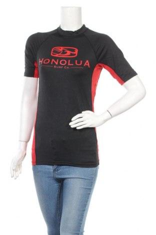 Дамска тениска Honolua, Размер L, Цвят Черен, 92% полиамид, 8% еластан, Цена 5,67лв.