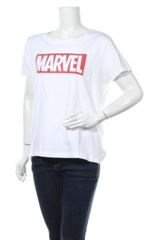 Γυναικείο t-shirt House, Μέγεθος XL, Χρώμα Λευκό, Βαμβάκι, Τιμή 15,62€