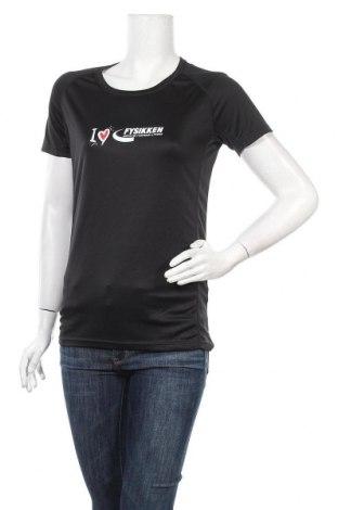 Дамска тениска Hurricane, Размер M, Цвят Черен, Полиестер, Цена 5,88лв.