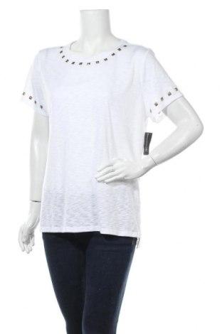 Дамска тениска INC International Concepts, Размер XL, Цвят Бял, 65% полиестер, 35% вискоза, Цена 50,72лв.