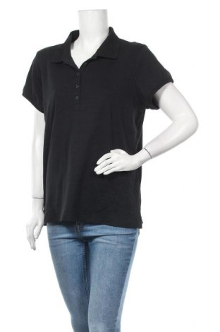 Дамска тениска Izod, Размер XXL, Цвят Черен, Памук, Цена 12,60лв.
