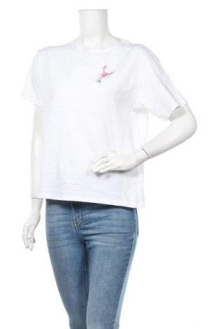 Дамска тениска Jake*s, Размер S, Цвят Бял, Памук, Цена 19,95лв.