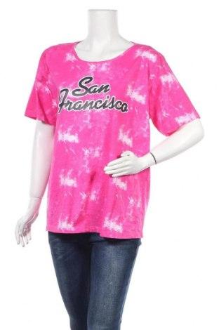 Дамска тениска Janina, Размер XL, Цвят Розов, Памук, Цена 12,50лв.
