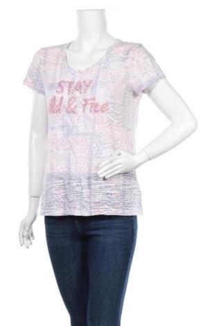 Дамска тениска Jean Pascale, Размер M, Цвят Многоцветен, Памук, Цена 8,19лв.
