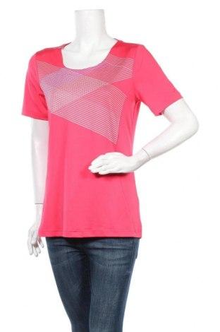 Дамска тениска Joy, Размер M, Цвят Розов, 92% полиестер, 8% еластан, Цена 12,50лв.